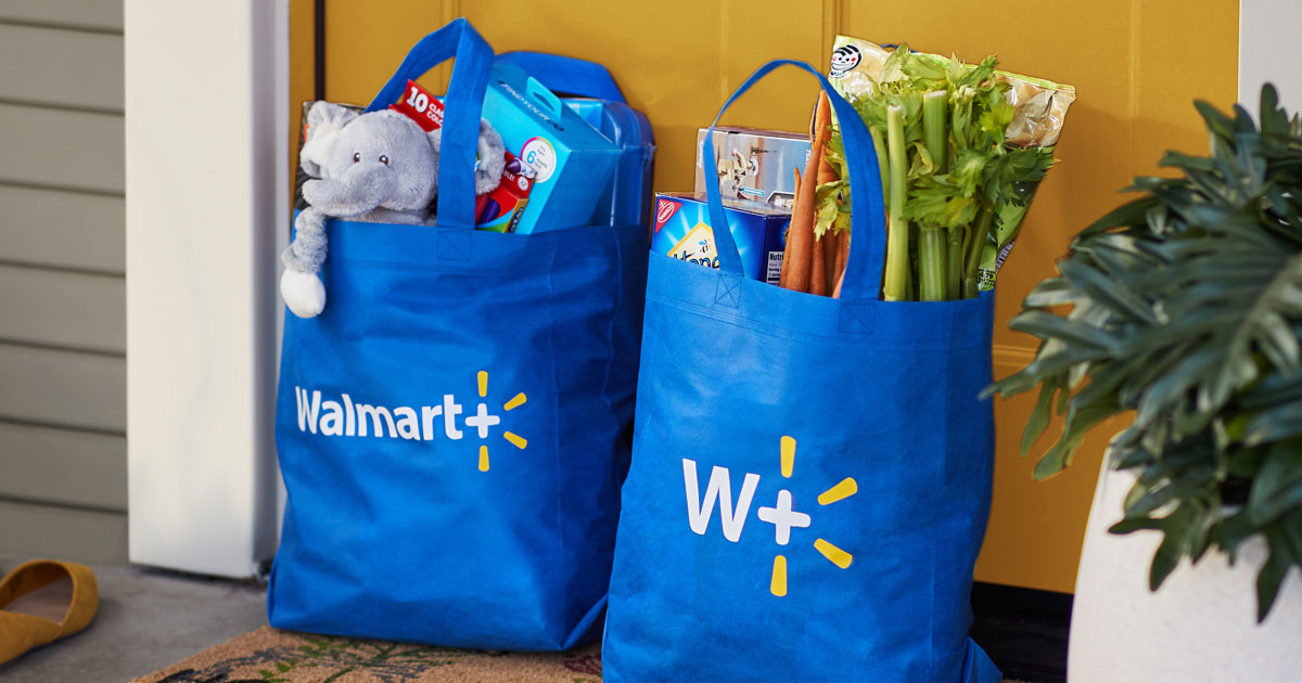 Free delivery from your store | Walmart+ membership | Walmart Plus